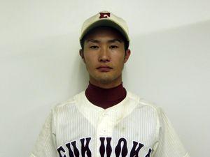 野球部 中島彰吾選手がドラフト指名されました - トピックス|文化・スポーツ|福岡大学